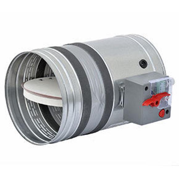 Picture of BTT25 Circular Fire Damper